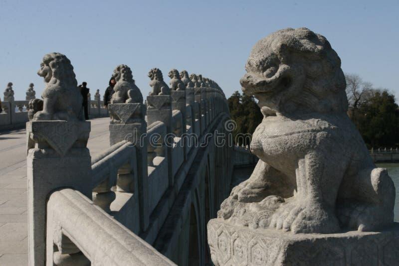 Cinzeladura de pedra no palácio de verão fotos de stock royalty free