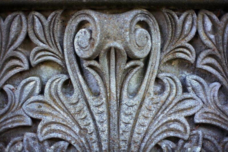 Cinzeladura do Sandstone fotografia de stock royalty free