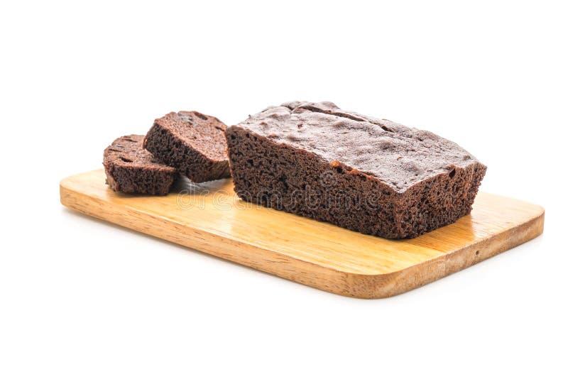Cioccolato Brownie Cake fotografie stock