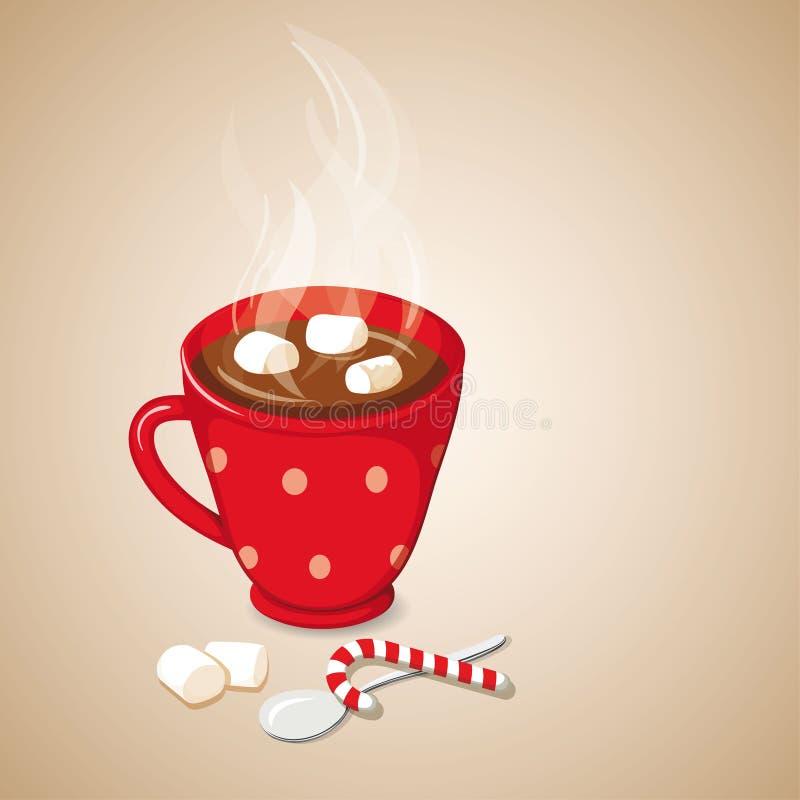 Cioccolato caldo royalty illustrazione gratis