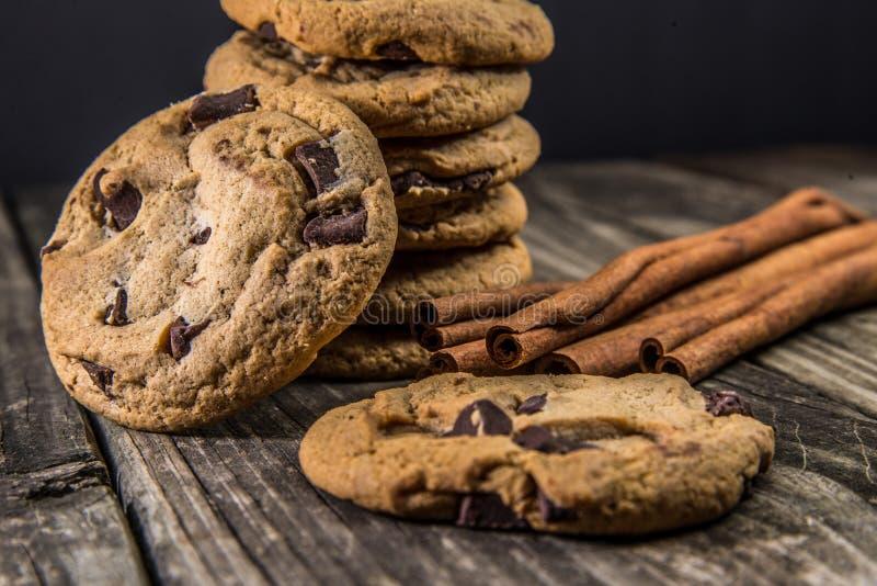 Cioccolato Chip Cookies immagine stock