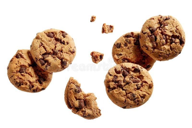 Cioccolato Chip Cookies fotografie stock