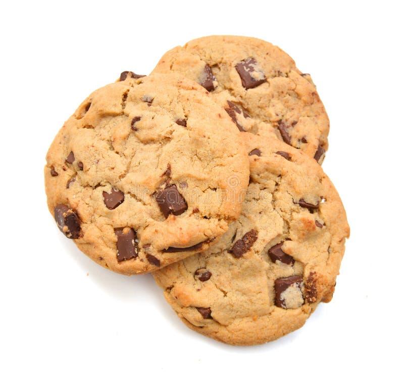 Cioccolato Chips Cookies fotografia stock