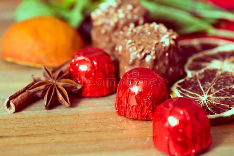 Cioccolato del primo piano immagini stock libere da diritti
