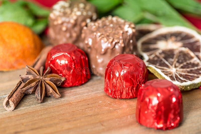 Cioccolato del primo piano fotografia stock libera da diritti