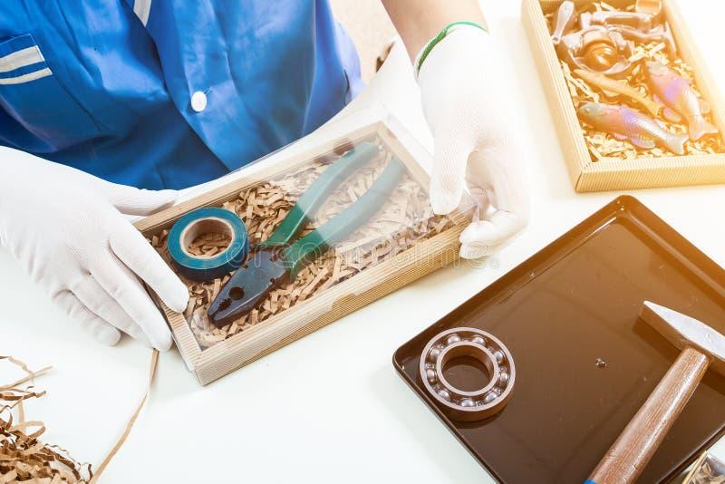 Cioccolato dell'imballaggio del confettiere fotografia stock