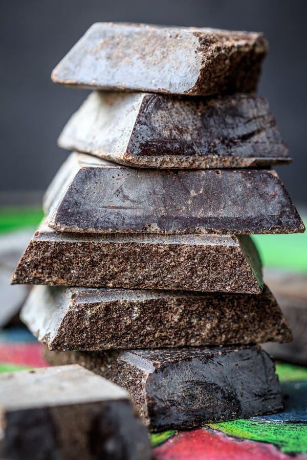 Cioccolato di Modica (Chocolate of Modica) stock photos
