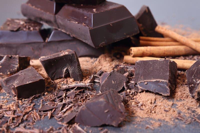 Cioccolato Dolci squisiti  immagini stock