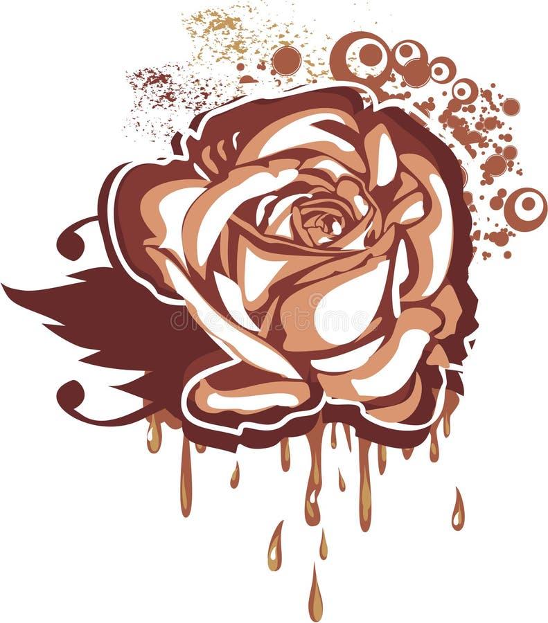 Cioccolato gastronomico illustrazione vettoriale