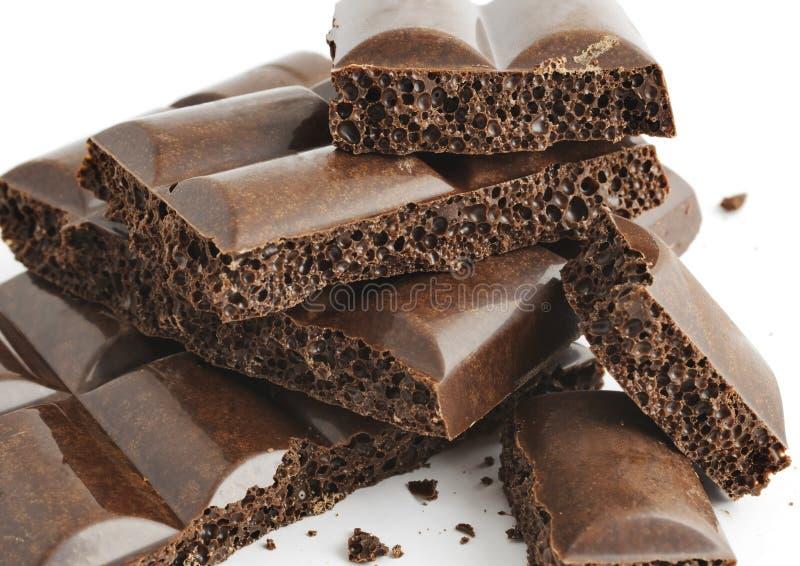 Cioccolato poroso 1 fotografia stock