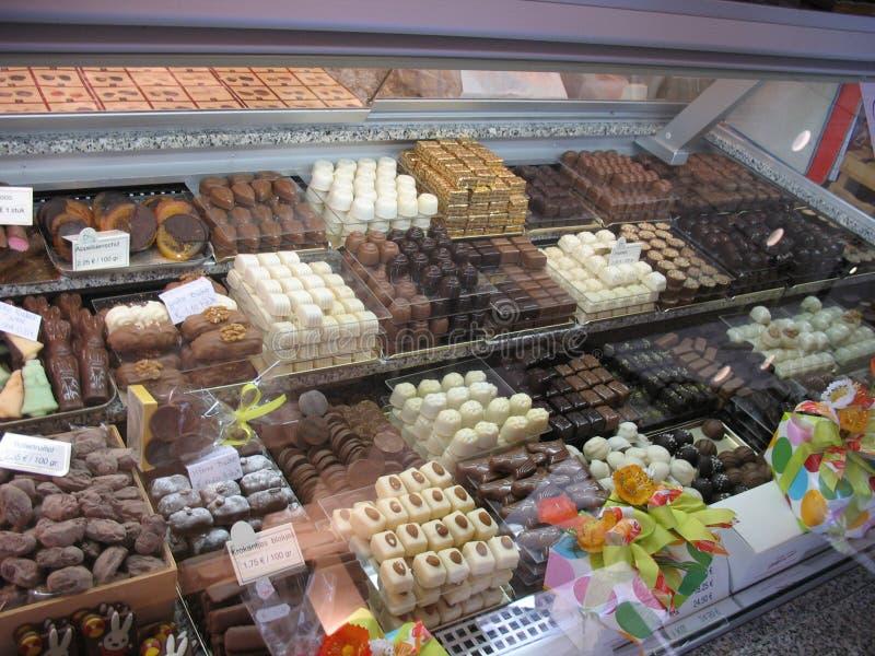 Cioccolato sulla vendita immagini stock