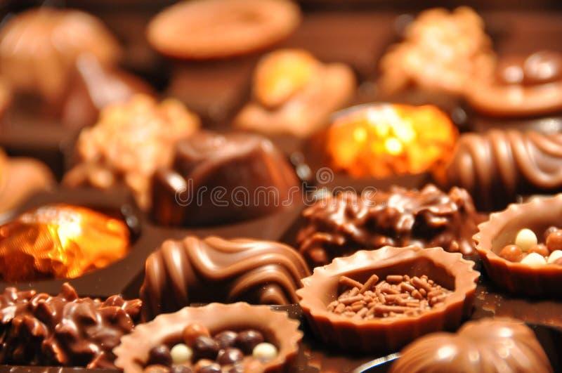 Cioccolato svizzero immagine stock