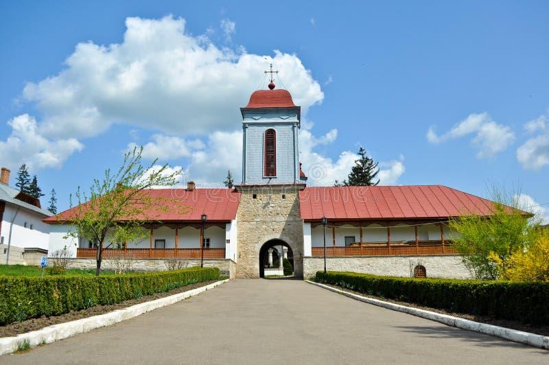 Ciolanu Monastery stock photos