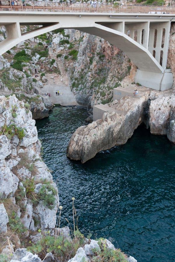 Ciolo de pont en Puglia photo stock