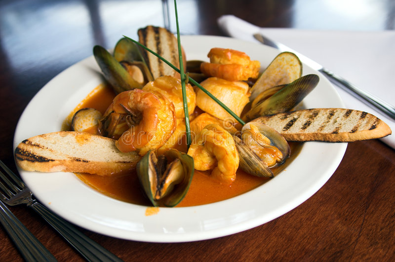 Cioppino royalty-vrije stock fotografie