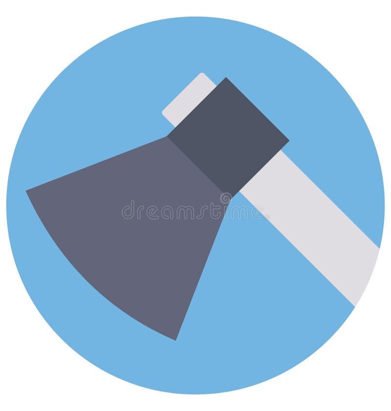 Cioska kolor Odizolowywał Wektorową ikonę która może łatwo redagować lub modyfikująca ilustracji
