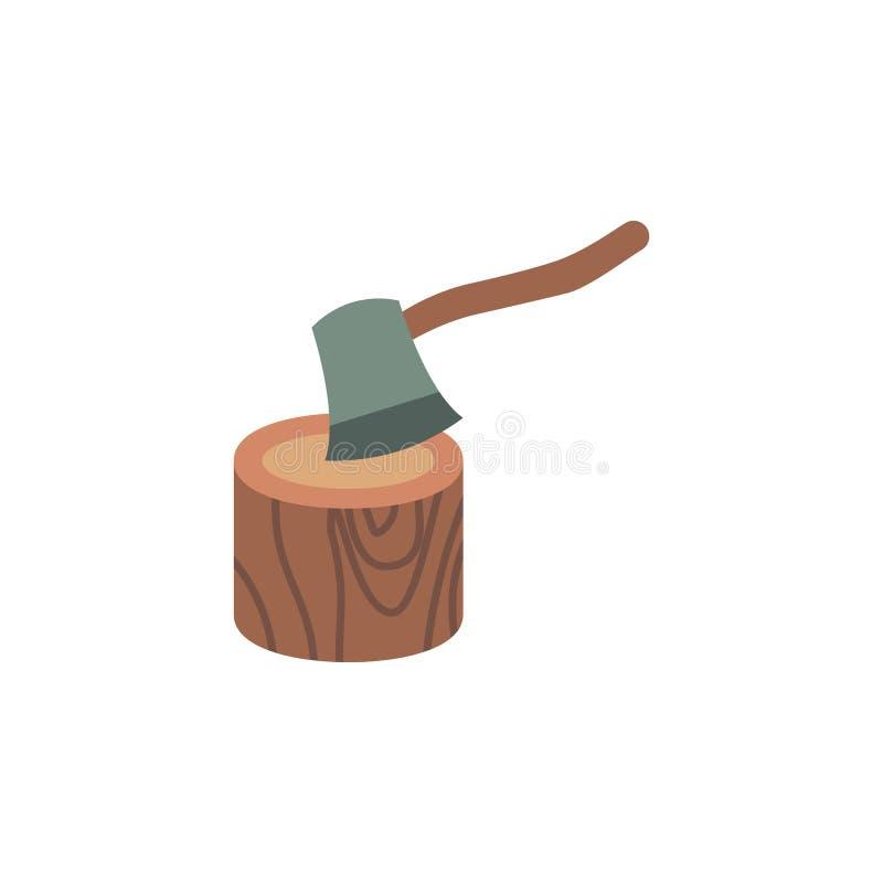 Cioska koloru drewniana ikona Elementy zimy krainy cudów wielo- barwione ikony Premii ilości graficznego projekta ikona ilustracji