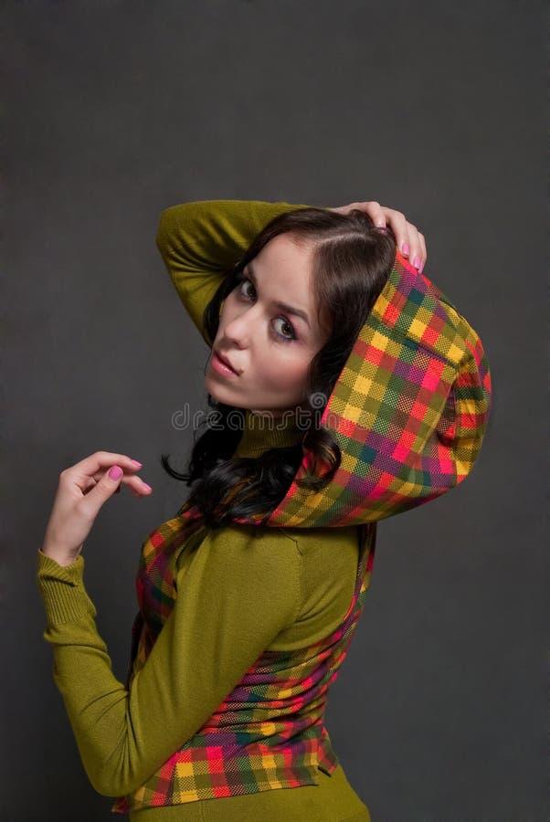 ciosowy dziewczyny waistcoat obrazy royalty free