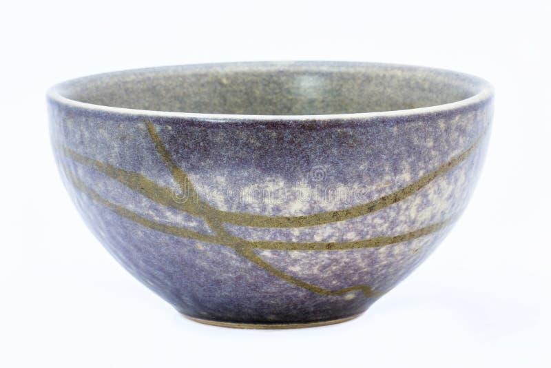 Ciotola ceramica vuota fotografia stock libera da diritti
