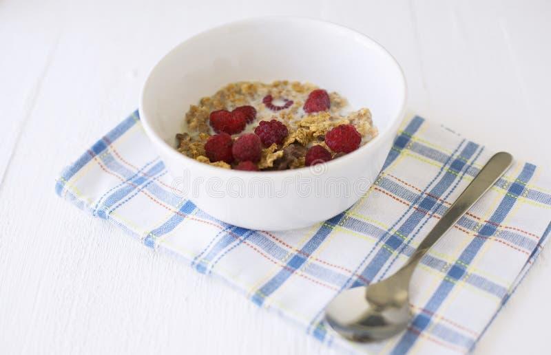 Ciotola con i cereali fotografia stock libera da diritti