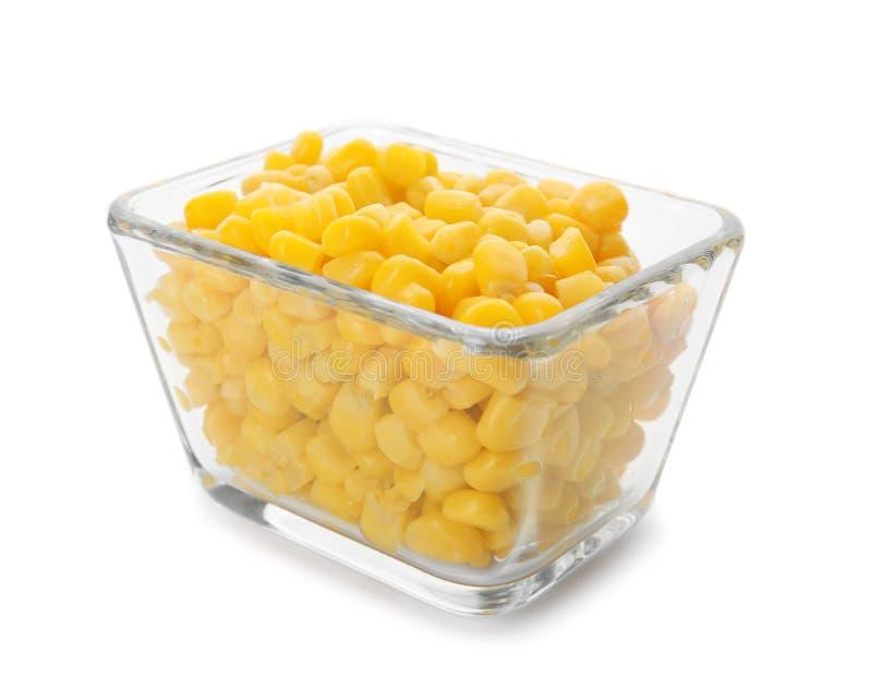 Ciotola con i noccioli di cereale fotografia stock libera da diritti
