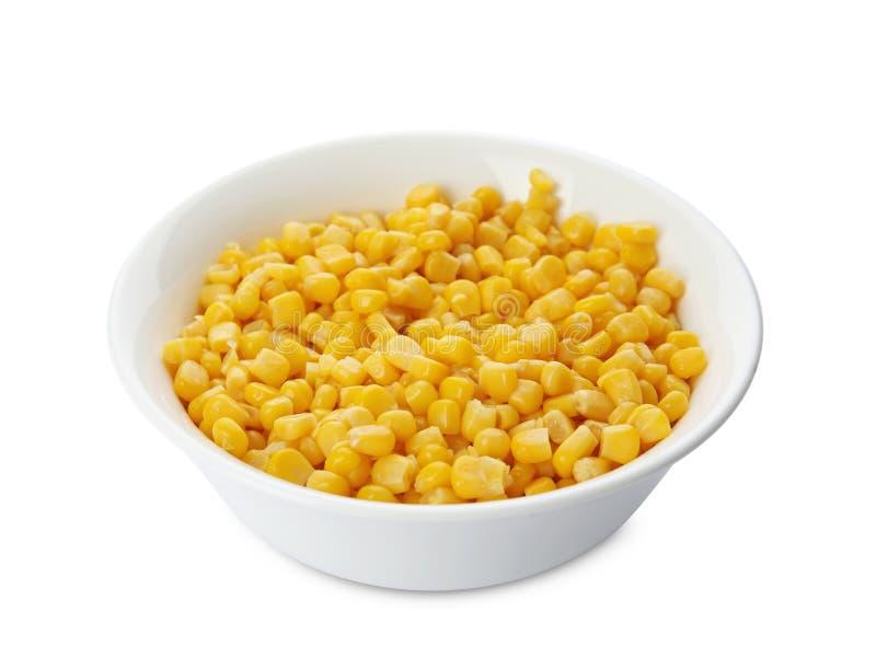 Ciotola con i noccioli di cereale fotografia stock