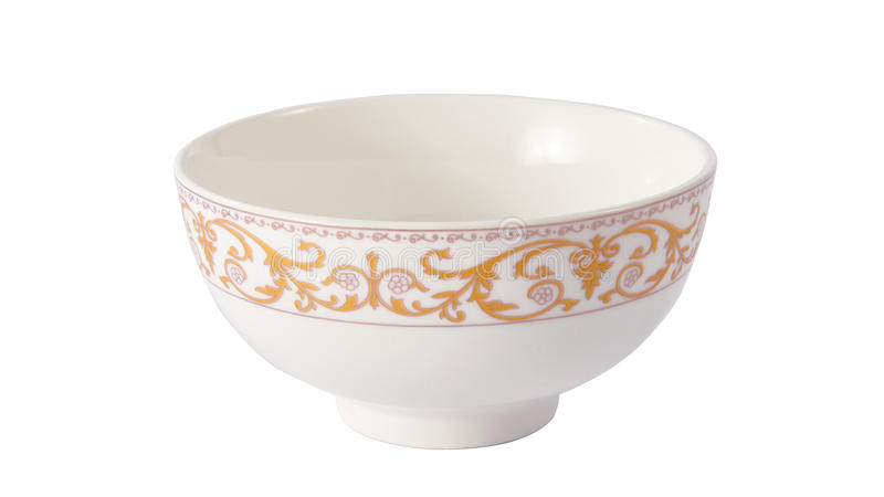 Ciotola di ceramica fotografia stock