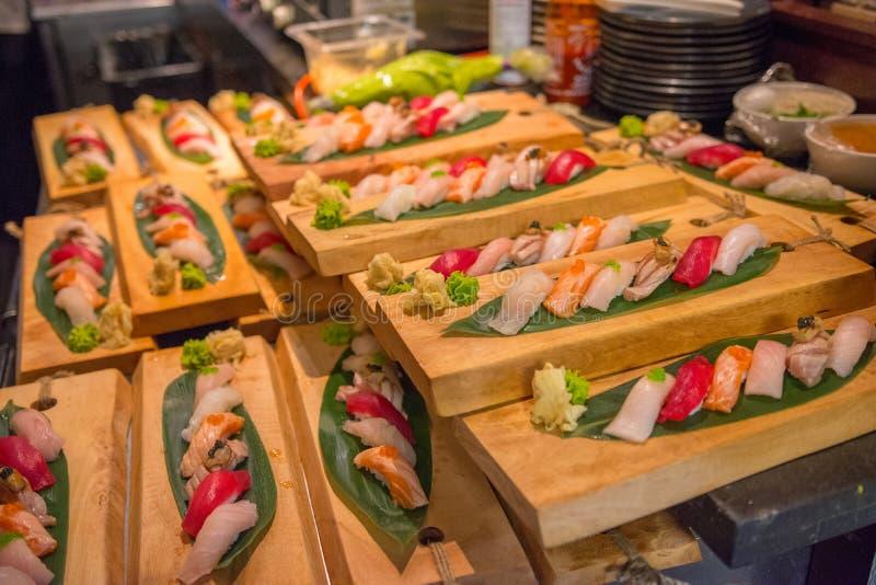Ciotola di color salmone del colpo fotografia stock