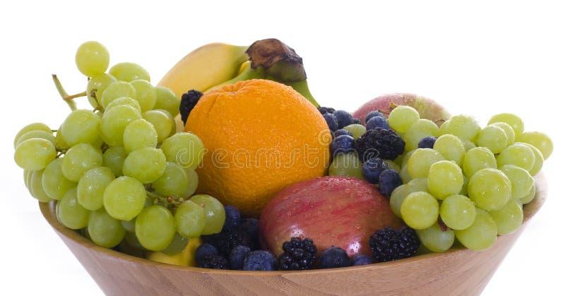 Ciotola di frutta 1 fotografia stock libera da diritti