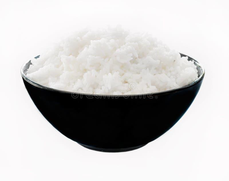 Ciotola di riso fotografia stock