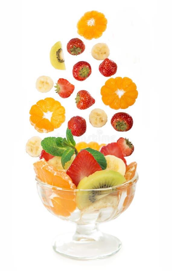 Ciotola di vetro con macedonia di frutta fresca fotografia for Clipart frutta