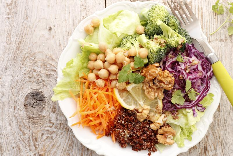 Ciotola vegetariana di Buddha immagini stock