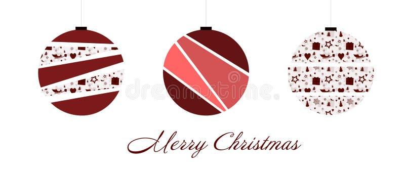 Ciotole del tempo di Natale illustrazione vettoriale