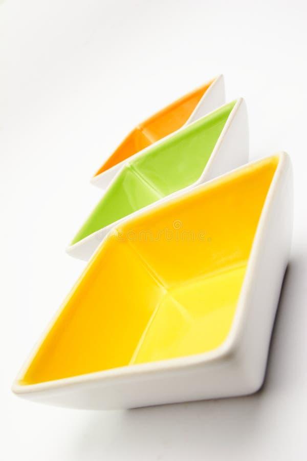 Ciotole della cucina immagine stock
