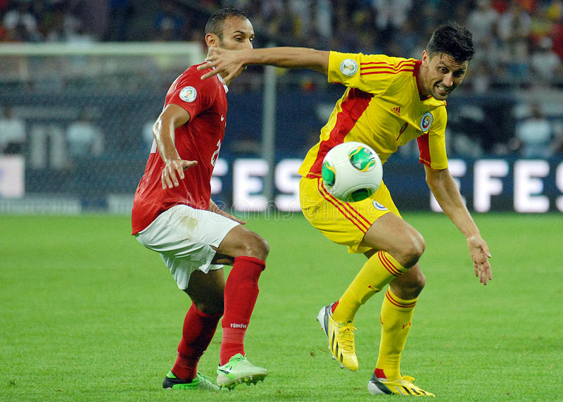 Ciprian Marica in Romania-Turkey World Cup Qualifier Game