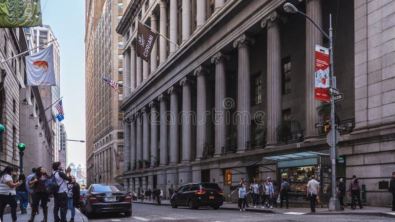 Cipriani Wall Street zdjęcie royalty free