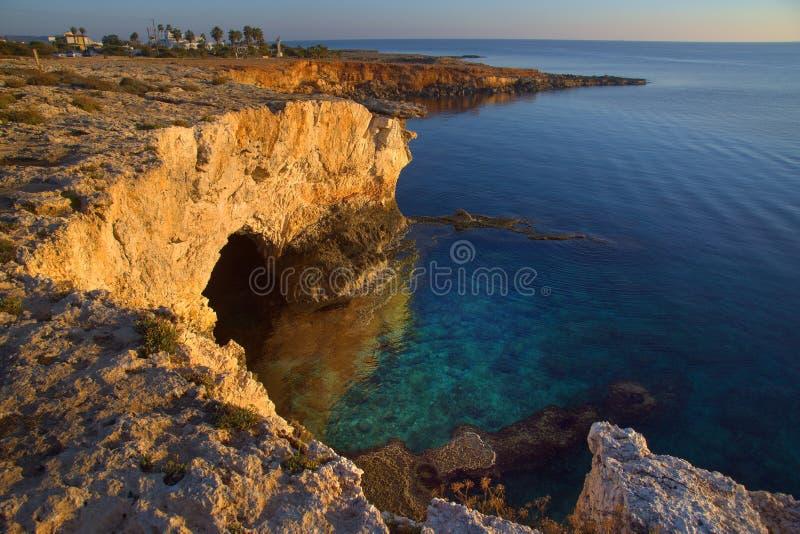 Cipro Favoloso Paesaggio Invernale fotografia stock