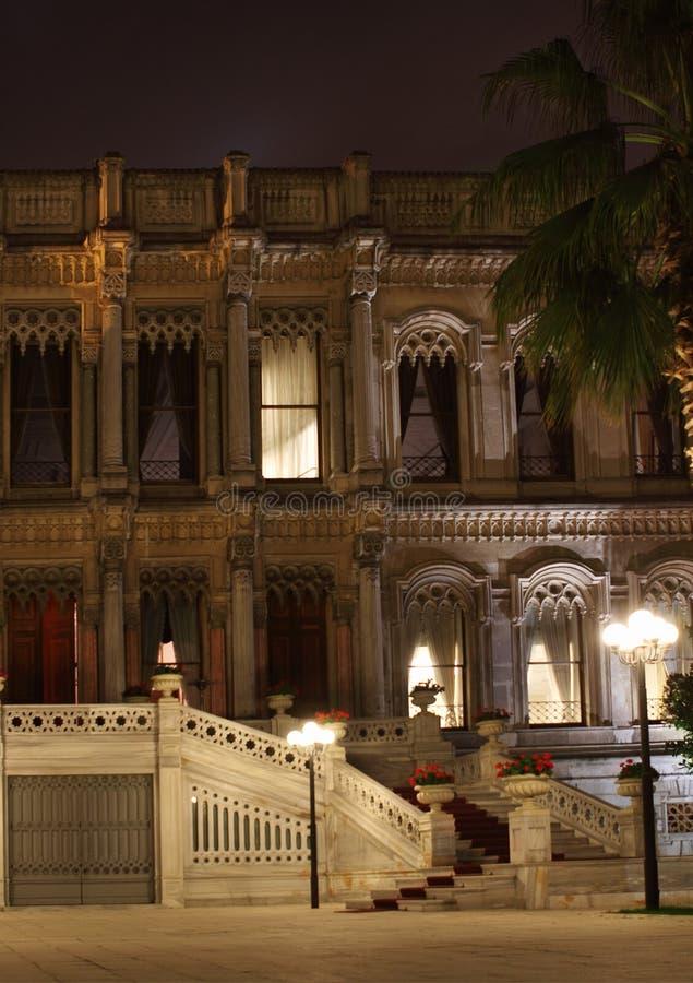 Ciragan Palasthotel Bosphorus Istanbul die Türkei lizenzfreie stockfotos