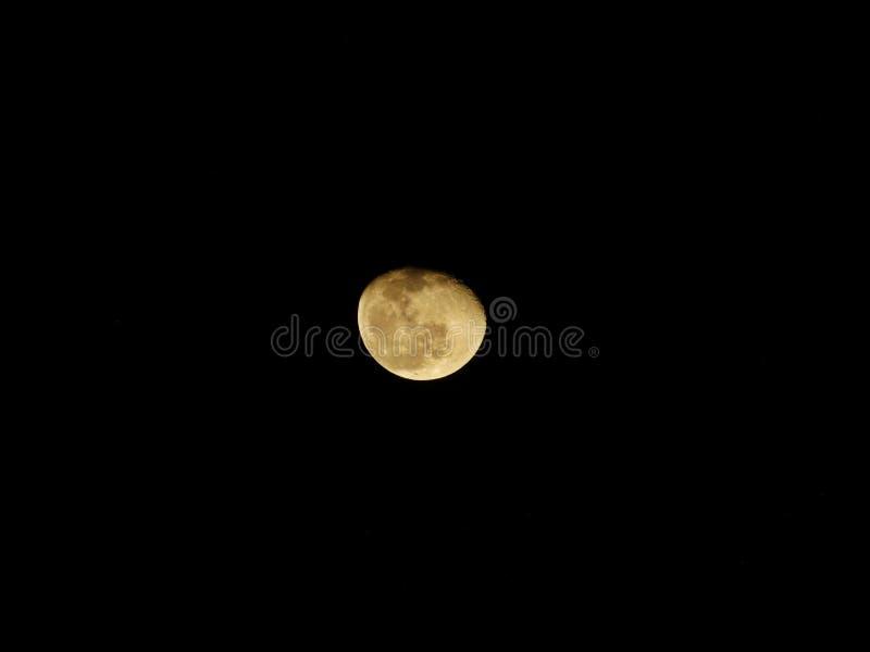 Cirage de la pleine lune image stock