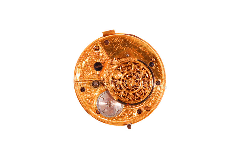 Circa 1795 watch royalty free stock photography