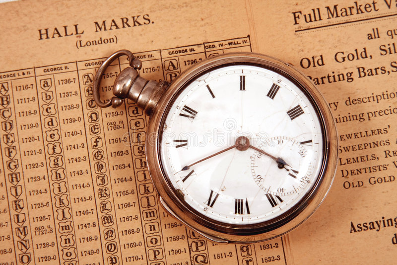 Circa 1795 Watch Stock Photo