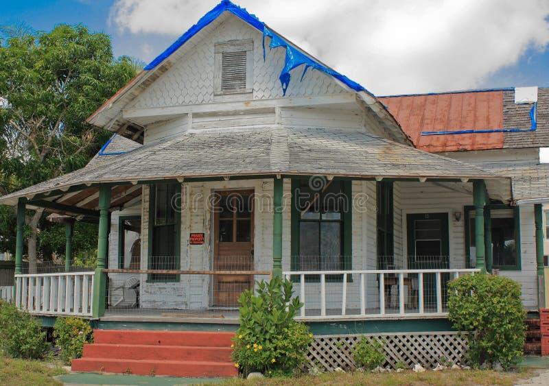 Circa 1800's Cracker House stock photo