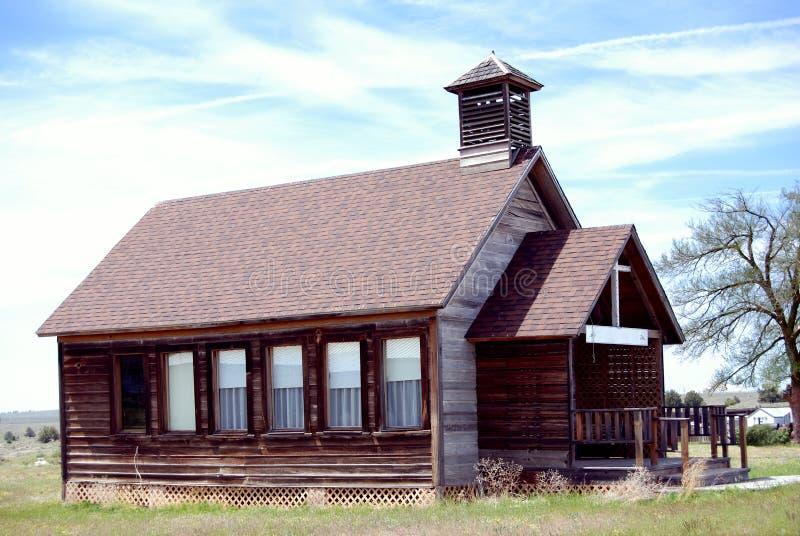 Circa o edifício 1900's ocidental americano adiantado imagens de stock royalty free