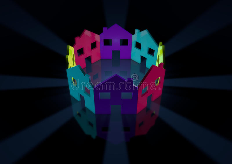 Download Circle stock illustration. Image of icon, circle, together - 24329517