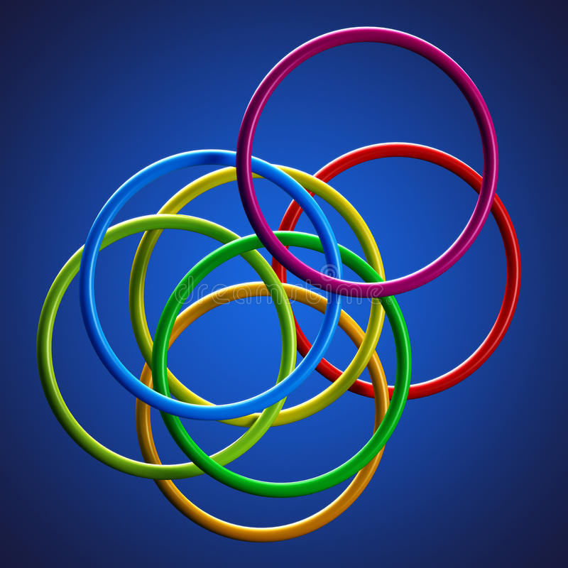 Download Circle background stock illustration. Image of rings - 32008346