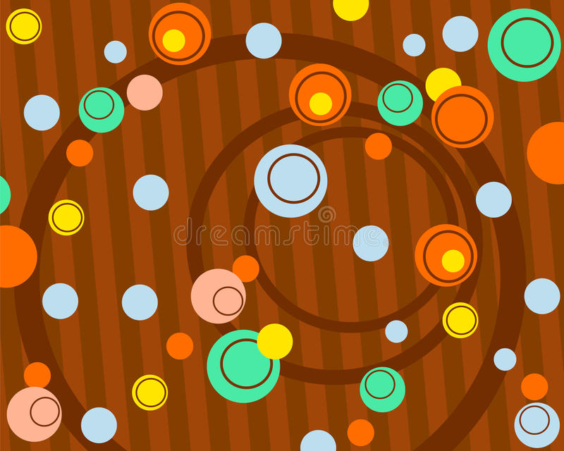 Circle background royalty free illustration