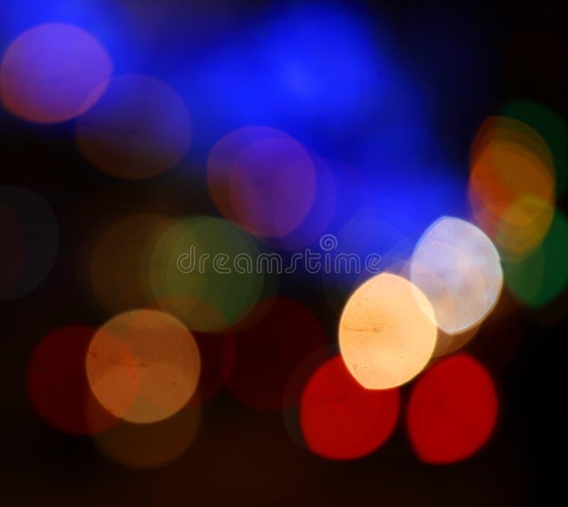 Circle bokeh color stock image