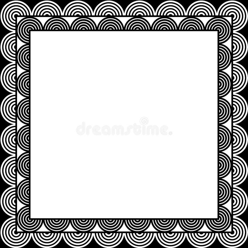 Download Circle border stock vector. Image of white, space, abstract - 459260