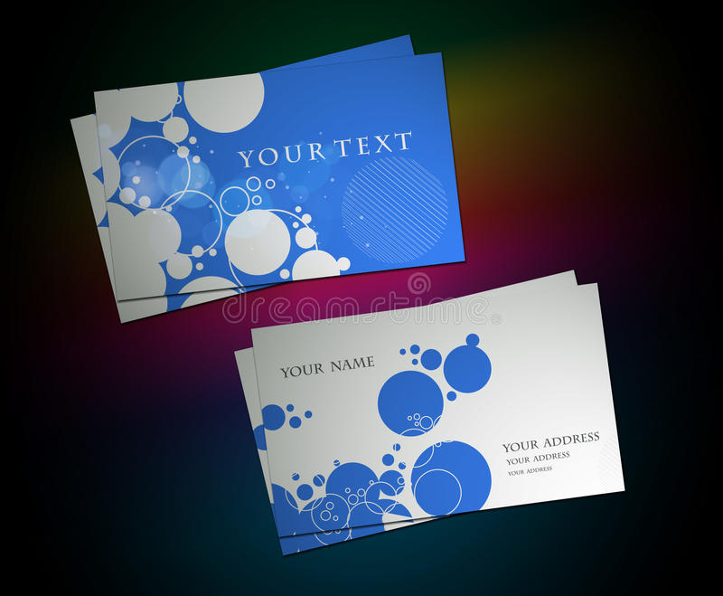 Circle business card set stock vector illustration of background download circle business card set stock vector illustration of background 17835177 colourmoves