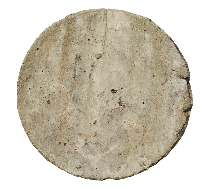 Circle cement or concrete wall texture. royalty free stock photos
